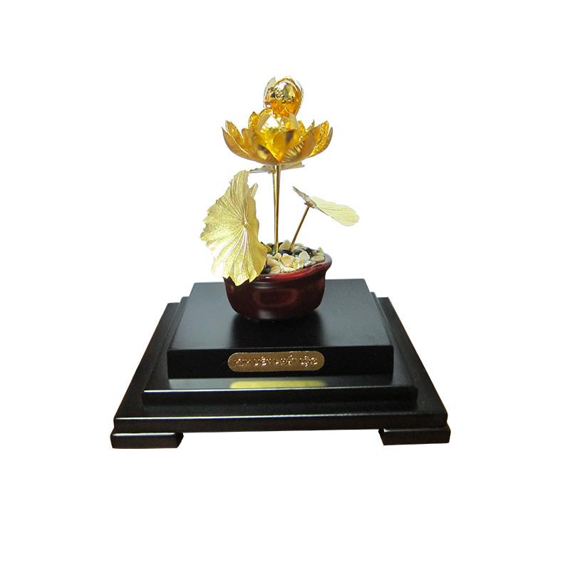 Kim Liên Phát Lộc - Quà tặng mỹ nghệ KIM Bảo Phúc DOJI