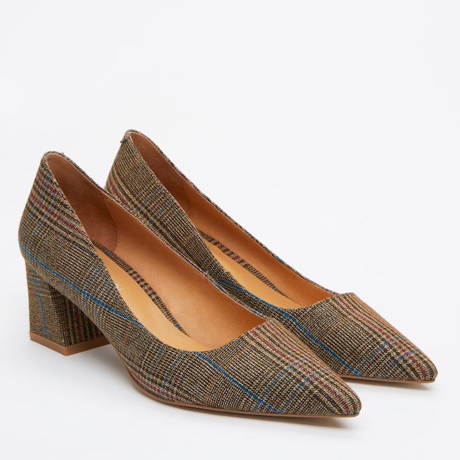 Giày cao gót Pazzion 023-2A - KHAKI