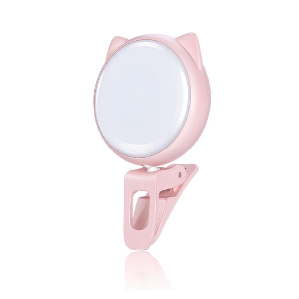 Đèn LED Selfie trợ sáng kẹp điện thoại 3 cấp độ - Tạo hiệu ứng chụp ảnh quay video cực đẹp Jisulife BL01