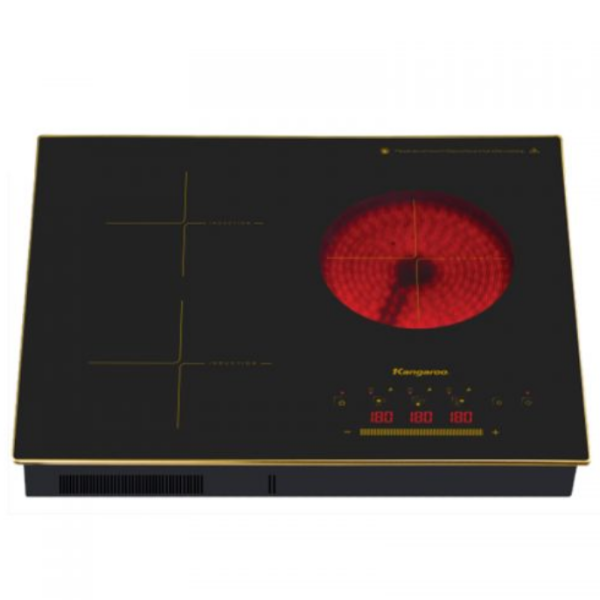 Bếp điện từ hồng ngoại ba model KG446i