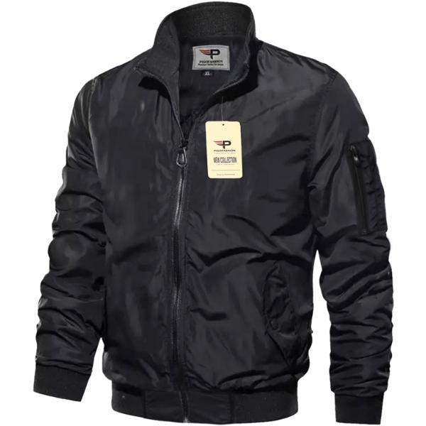 Áo khoác dù nam pigofashion chống nắng hàng hiệu cao cấp akd35-đen