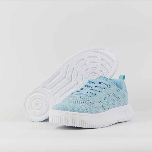Giày sneakers thể thao hợp thời trang phối lưới thoáng khí cho bé trai