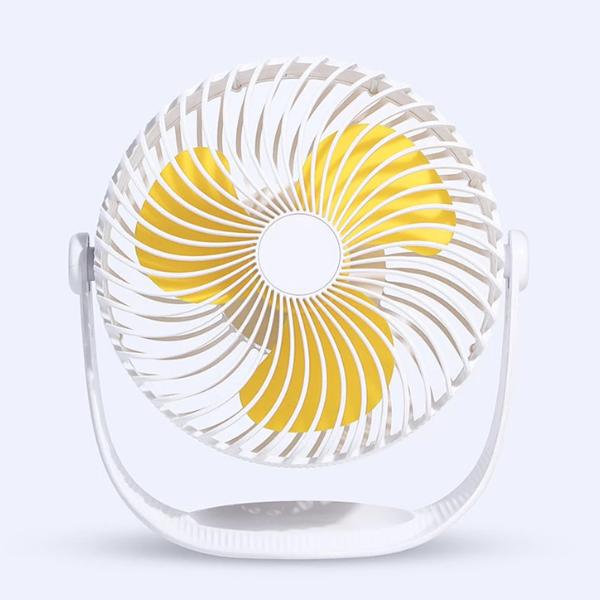 Quạt để bàn lồng tròn cỡ lớn cao cấp, xoay 360 độ, kiểu dáng thời trang, bảo hành chính hãng