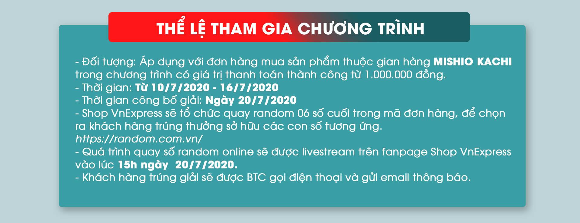 The le chuong trinh