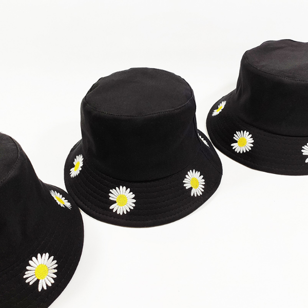 Nón, mũ bucket hoa cúc NON0419D