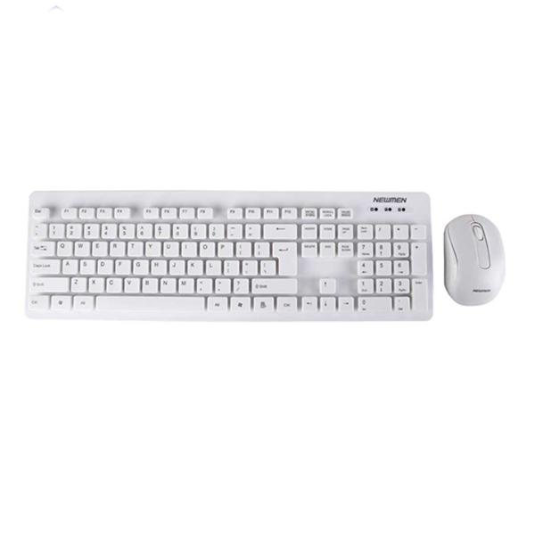 Bộ bàn phím, chuột máy tính không dây Newmen K121