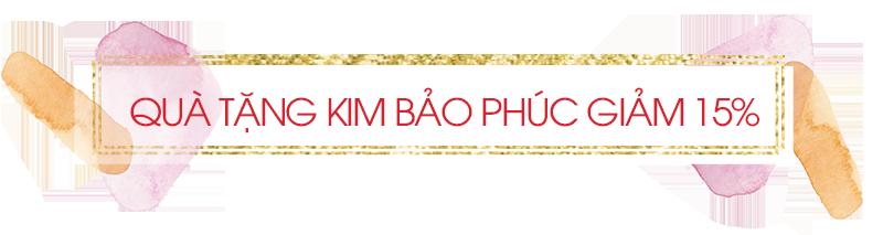 Quà tặng Kim Bảo Phúc giảm 15%