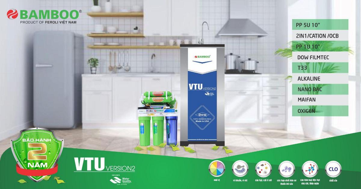 Máy lọc nước RO Bamboo VTU