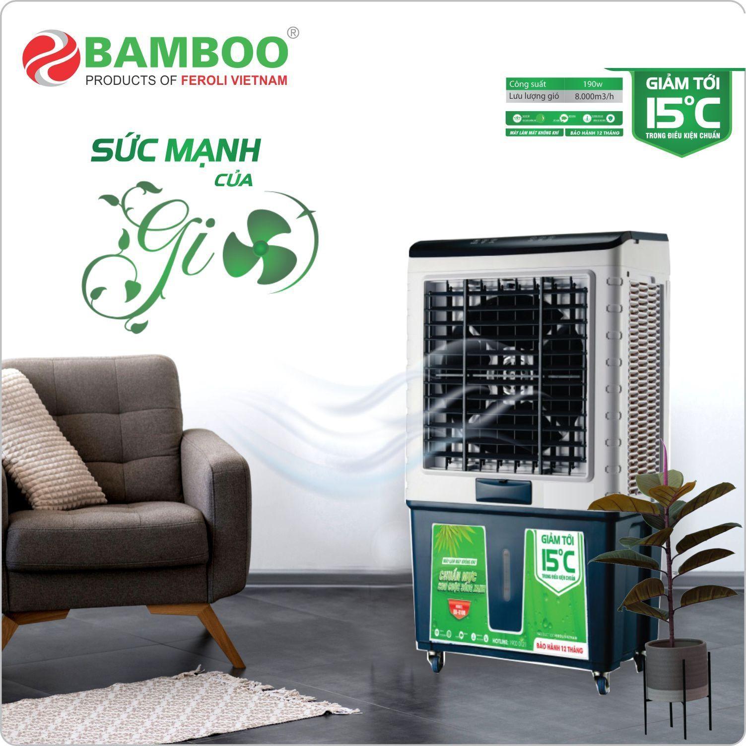 Quạt điều hòa Bamboo BB8400R