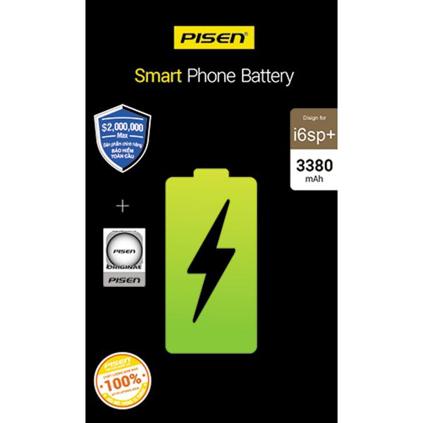 Pin điện thoại Pisen dung lượng cao dành cho iphone 6sp+