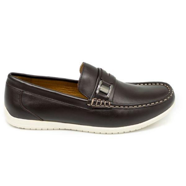 Giày lười nam Pierre Cardin PCMFWLE324BLK màu nâu