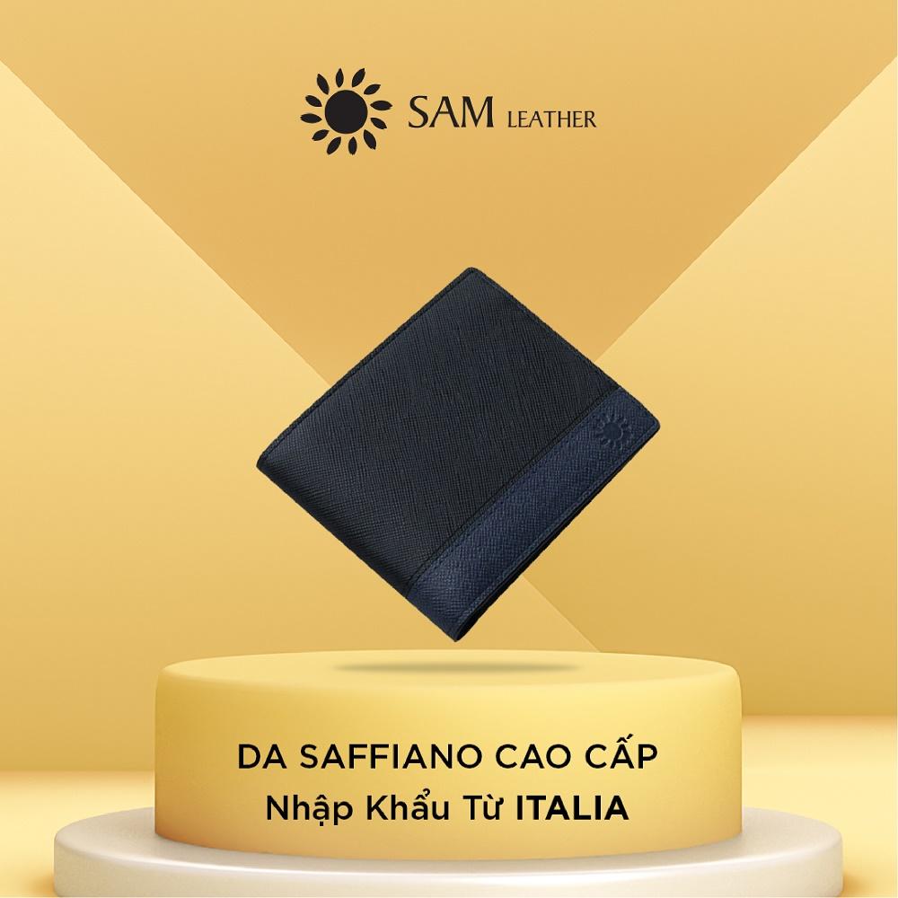 Ví nam da bò Sam Leather HNK01 – ví da nam hàng chính hãng bảo hành 1 năm
