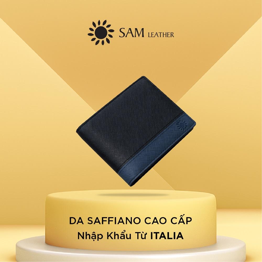 Ví nam da bò Sam Leather MXK01 – ví da nam hàng chính hãng bảo hành 1 năm