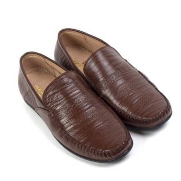 Giày lười nam Pierre Cardin PCMFWLE088BRW màu nâu