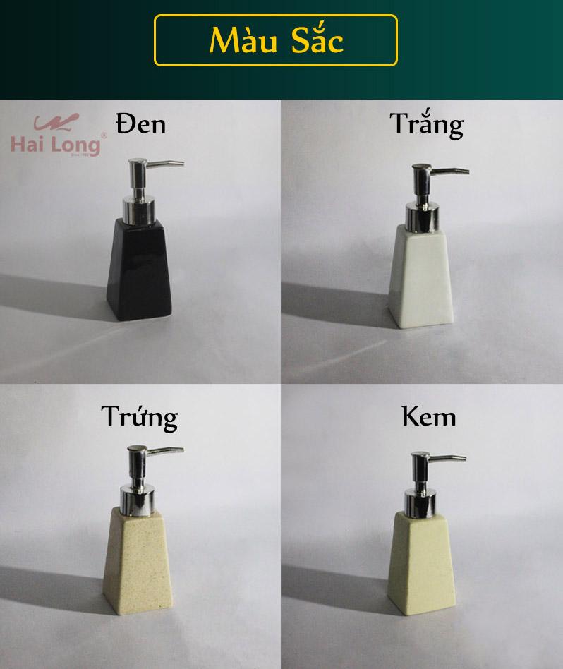 Bình đựng nước rửa tay bằng sứ Bát Tràng