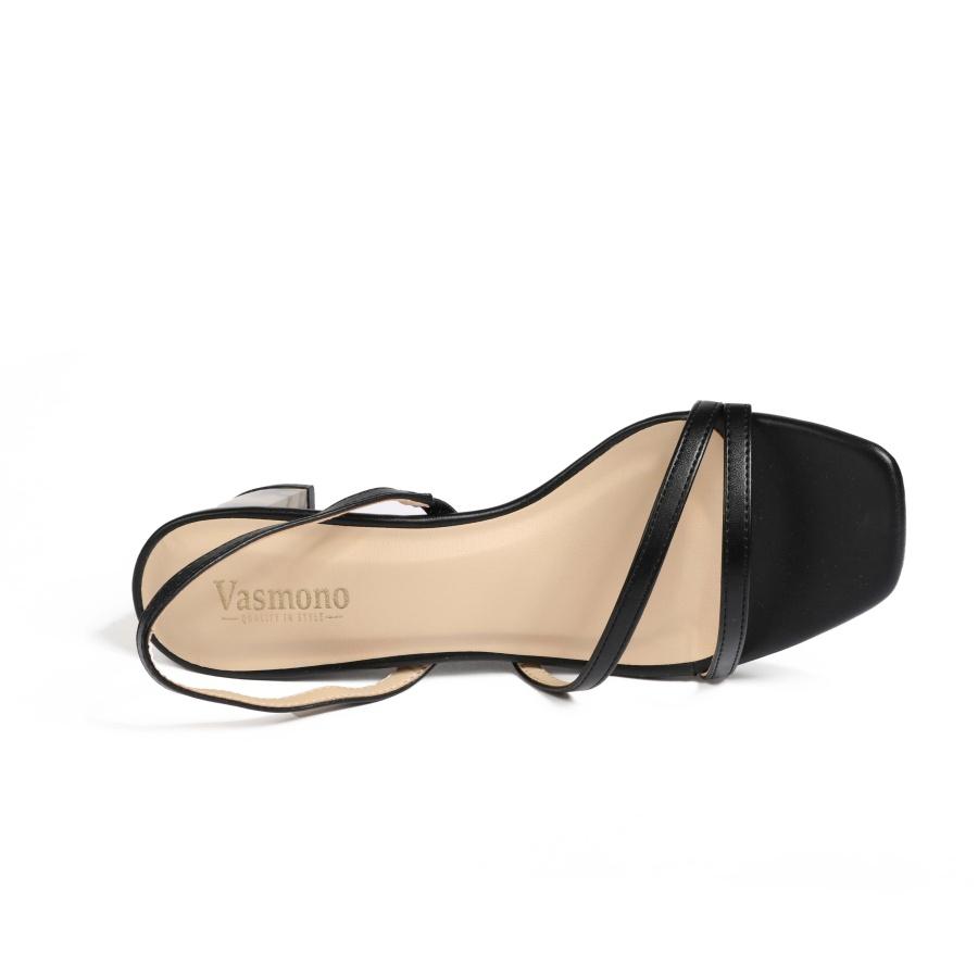 Giày Sandal 5cm quai mảnh Vasmono 118