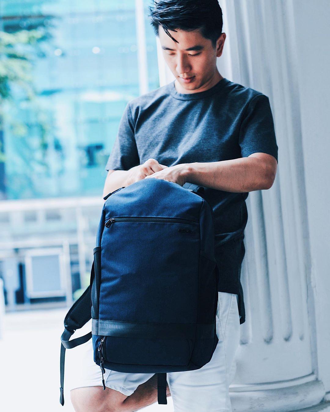 Balo Agva traveller daypack 15.6 inch xanh dương-ltb357blue