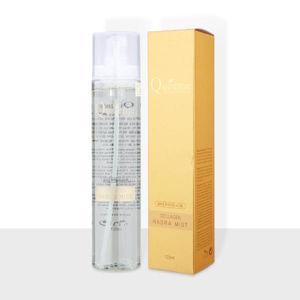 Xịt khoáng dưỡng ẩm bổ sung Collagen Queenie – Mỹ Phẩm Hàn Quốc