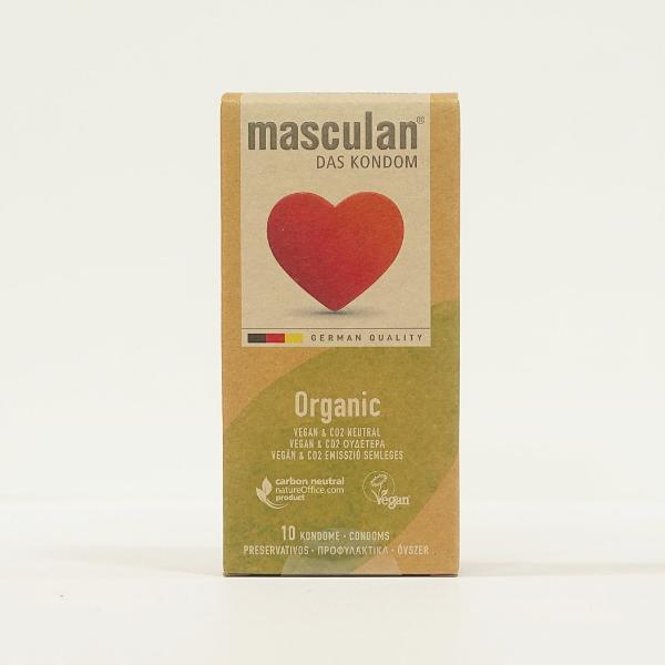 Bao cao su Masculan Organic - Loại 10 bao