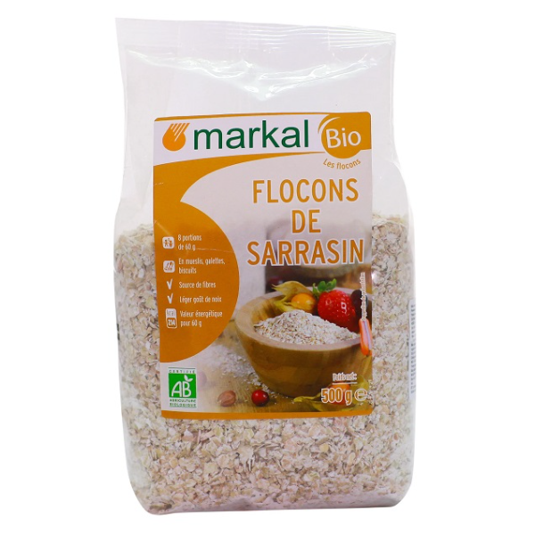 Kiều mạch cán dẹp hữu cơ Markal 500g