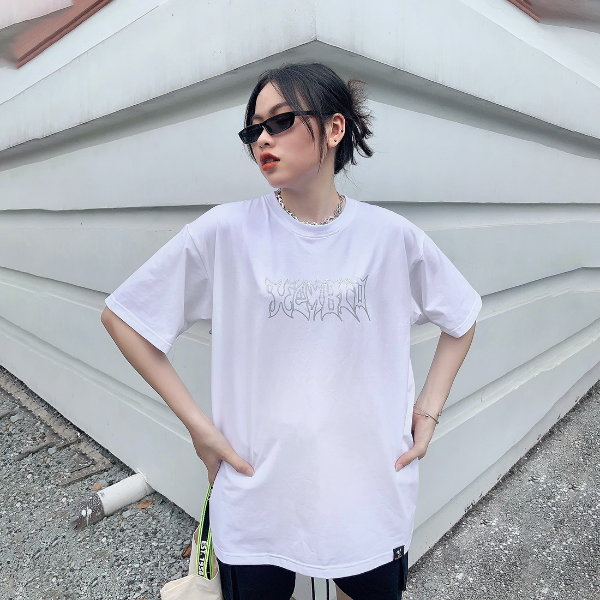 Áo thun form rộng unisex local brand Heybro by Eden - HB002