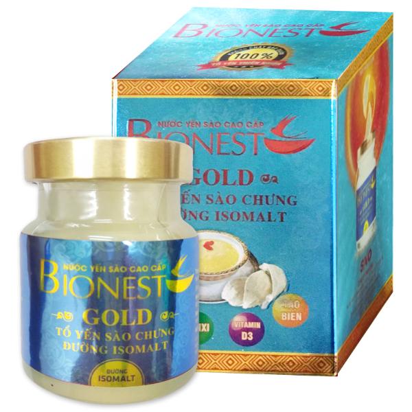 Yến sào Bionest Gold Isomalt cao cấp (dành cho người tiểu đường) -1 lọ