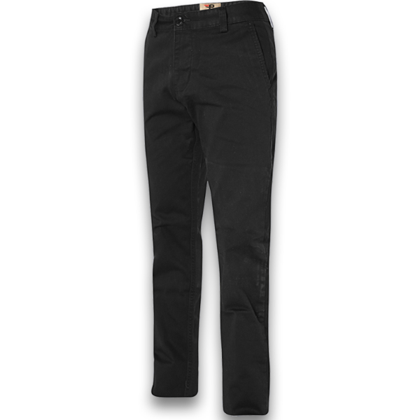 Quần kaki dài nam kiểu dáng basic chuẩn phong cách Pigofashion qkk01 đen