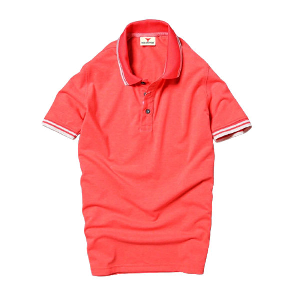 Áo thun nam phối viền Dokafashion ngắn tay cổ bẻ dệt form ôm dáng chuẩn body, Chọn Màu