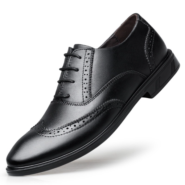 Giày da nam giày tây buộc dây da thật bảo hành 1 năm