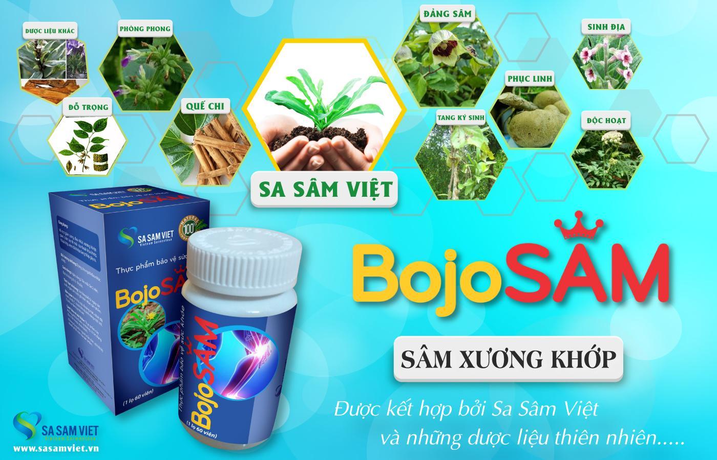 Sâm Xương Khớp BojoSAM - Sa Sâm Việt