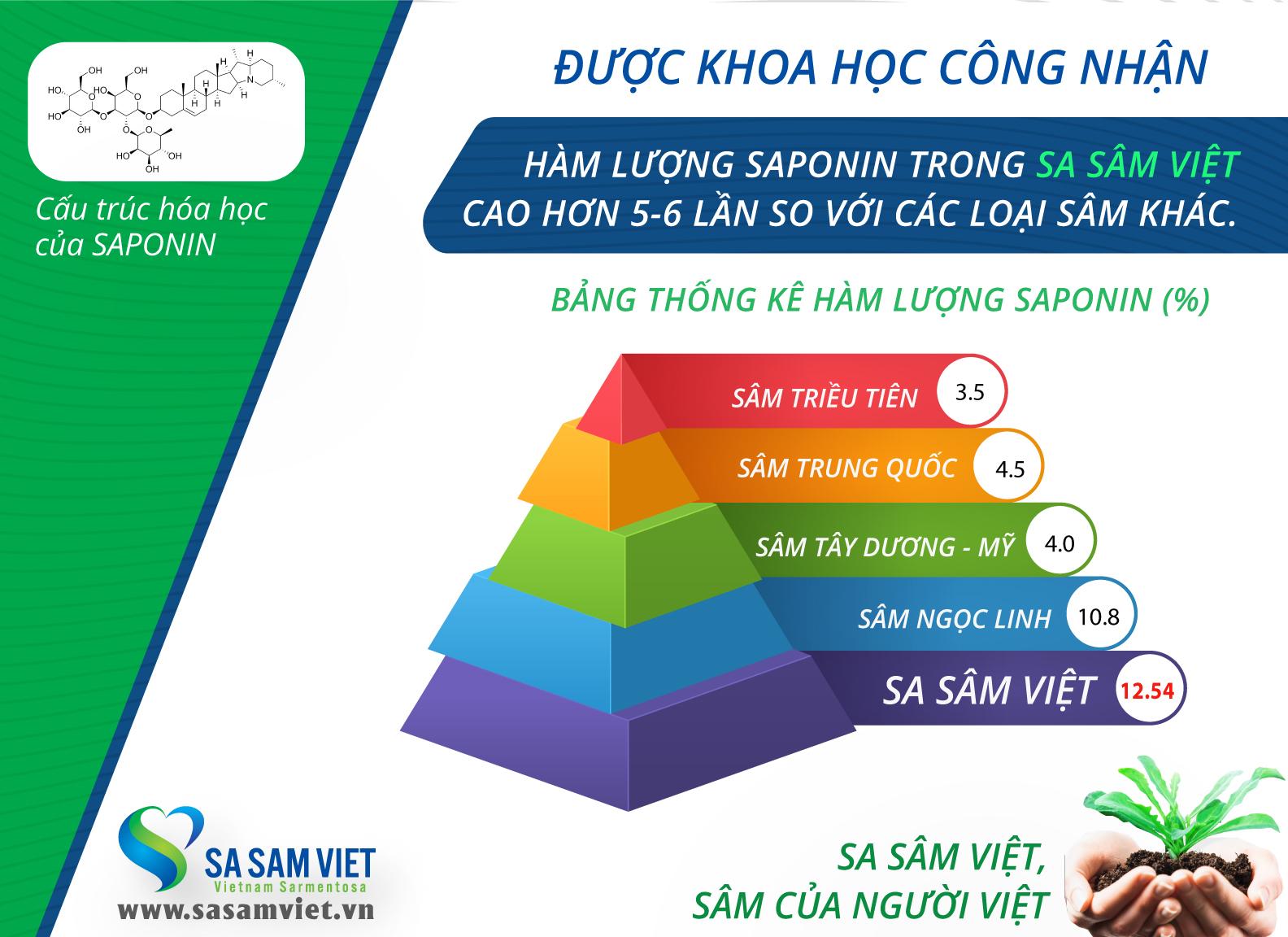 Sâm đường huyết SulinSAM - Sa Sâm Việt