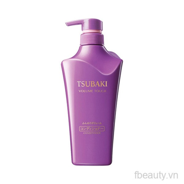 Dầu xả ngăn rụng tóc Tsubaki Volume Touch Conditioner NA 500ml