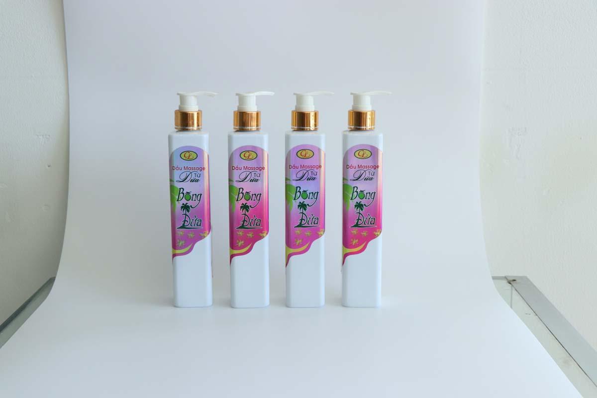 Dầu massage từ dừa 100 ml