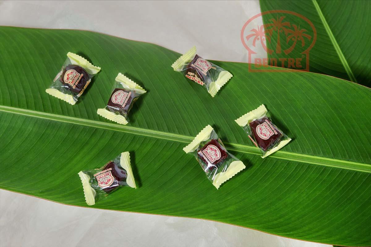 Kẹo Chuối Gừng hiệu Bà Hai Tỏ Bến Tre - 500gr