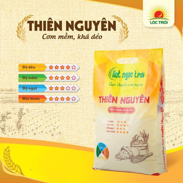 Gạo Hạt Ngọc Trời Thiên Nguyên 10kg