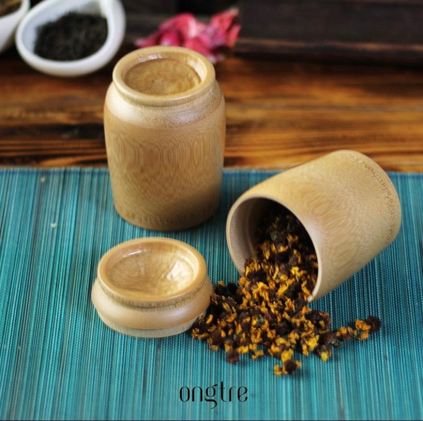 Hộp trà cao cấp bằng tre 3 kích thước - ONGTRE Vietnam