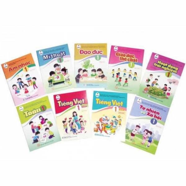 Bộ sách giáo khoa cho bé vào Lớp 1 (Bộ 10 Cuốn)