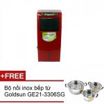 Quạt điều hòa 2 chiều EF-GHT13A + Tặng kèm bộ 3 nồi inox dùng được từ
