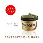 Bùn khoáng dưỡng trắng da Bentonite - MH Bentonite Mud Mask for Oil Skin