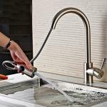 Vòi rửa bát nóng lạnh inox304 Zento SUS 5578