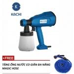 Máy phun sơn cầm tay Kachi MK + Tặng ống nước đa năng