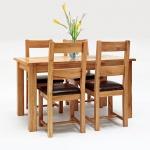 Bộ bàn ăn 4 IBIE ghế Westbury gỗ sồi