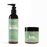 Scentuals Combo Yoga Vitality: Sữa dưỡng thể + Muối tắm