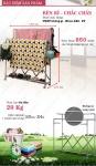 Giàn phơi đồ 3 tầng thông minh Hàn Quốc - Tặng bộ dao 8 món có đế gỗ