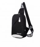 Túi đeo chéo cá tính Haras HRS083(Đen)