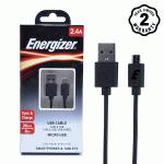 Cáp Micro USB Energizer 20cm (Black)