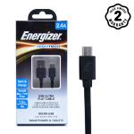 Cáp Micro USB Energizer Ultra Flat 1.2m (Black)