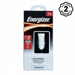 Sạc ô tô Energizer 1A, 1 USB - DCA1ACWH3 (Trắng)