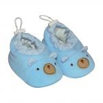 Giày gấu 0981 - SS0981 - Size 3M, 6M ( Xanh biển - ngẫu nhiên ) - BabyOne