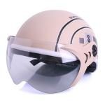 Mũ bảo hiểm SPO cao cấp (Kem)